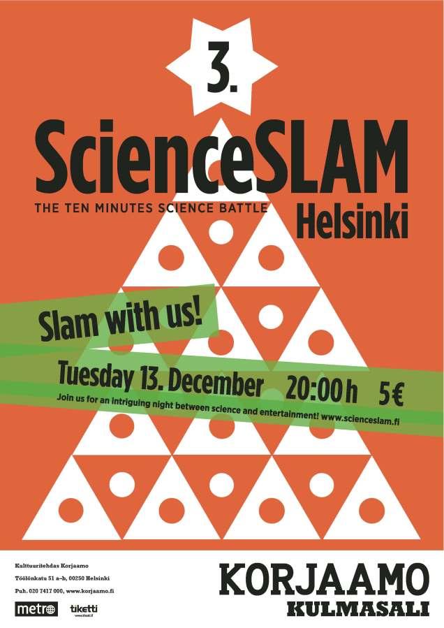 3rd ScienceSLAM Helsinki - Poster